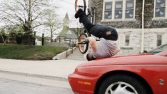 Original bike tricks by Tim Knoll