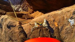 World's most insane rope swing