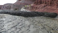Amazing Flash Flood In Utah Desert