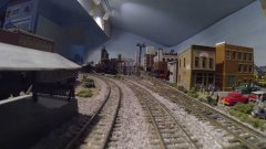 Take A Ride Through Grandpa's Vast Miniature Train Town