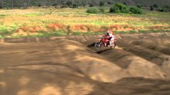 Head To Head Straight Run Dirt Bike Race At Red Bull