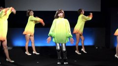 Japanese Dancing Robot Girl