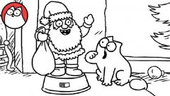 Simon's Cat - Christmas Presence