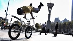 Extreme Bike Parkour In San Francisco
