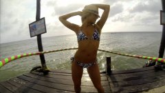 Dallas Cowboys Cheerleaders Dance With GoPro-Fitted Hula Hoop