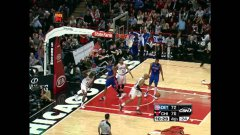 Derrick Rose Bulls alley oop