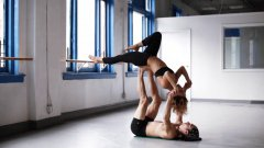 AcroYoga with Chelsey Korus and Matt Giordano