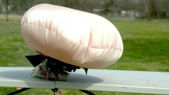 Airbag Deploying in Slow Motion