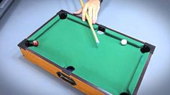 Mini Pool Trick Shots