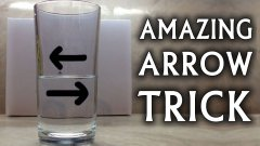 Reverse Arrow Optical Illusion