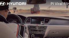 Hyundai: The Empty Car Convoy